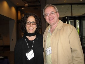 Sarah Leavitt and Brian Fies at Comics and Medicine 2011