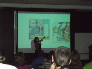 Phoebe Gloeckner at Comics and Medicine 2011