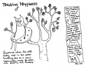 Thinking happiness, by Sarah Leavitt