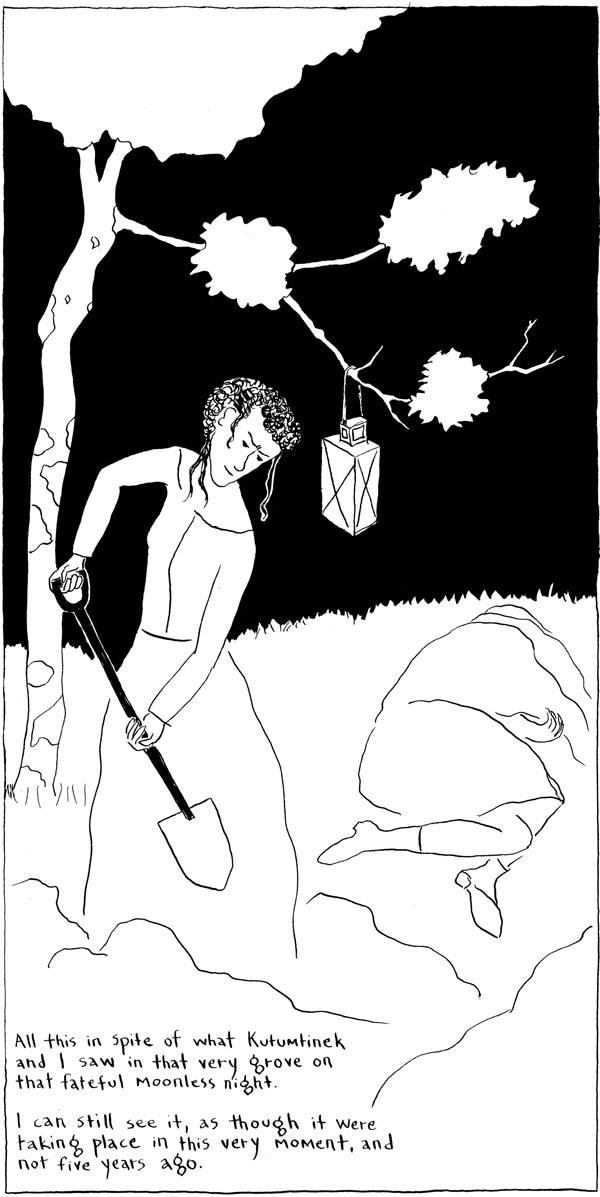 Sneak peak of Agnes Murderess: Agnes buries a victim